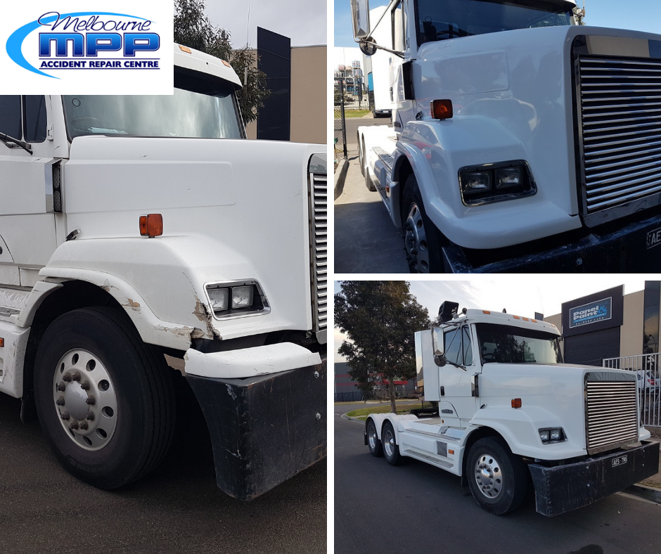 Truck Body Repairs Melbourne