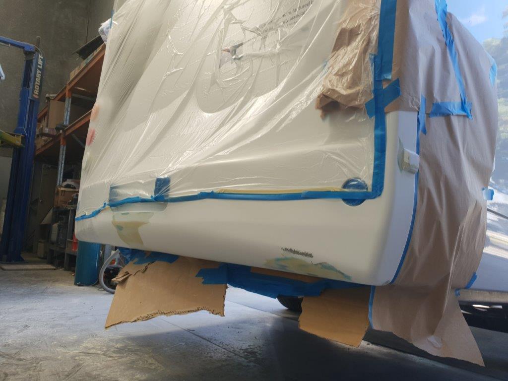 Motorhome Fiberglass Repair Melbourne