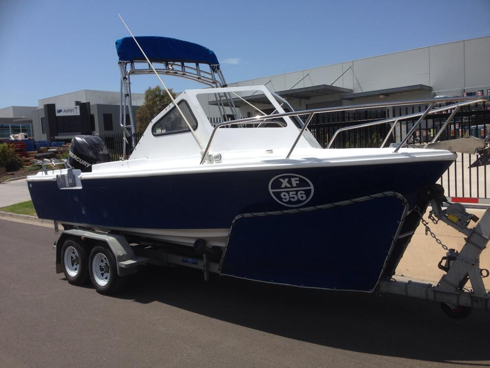 West Melbourne Boat Hull Repairs