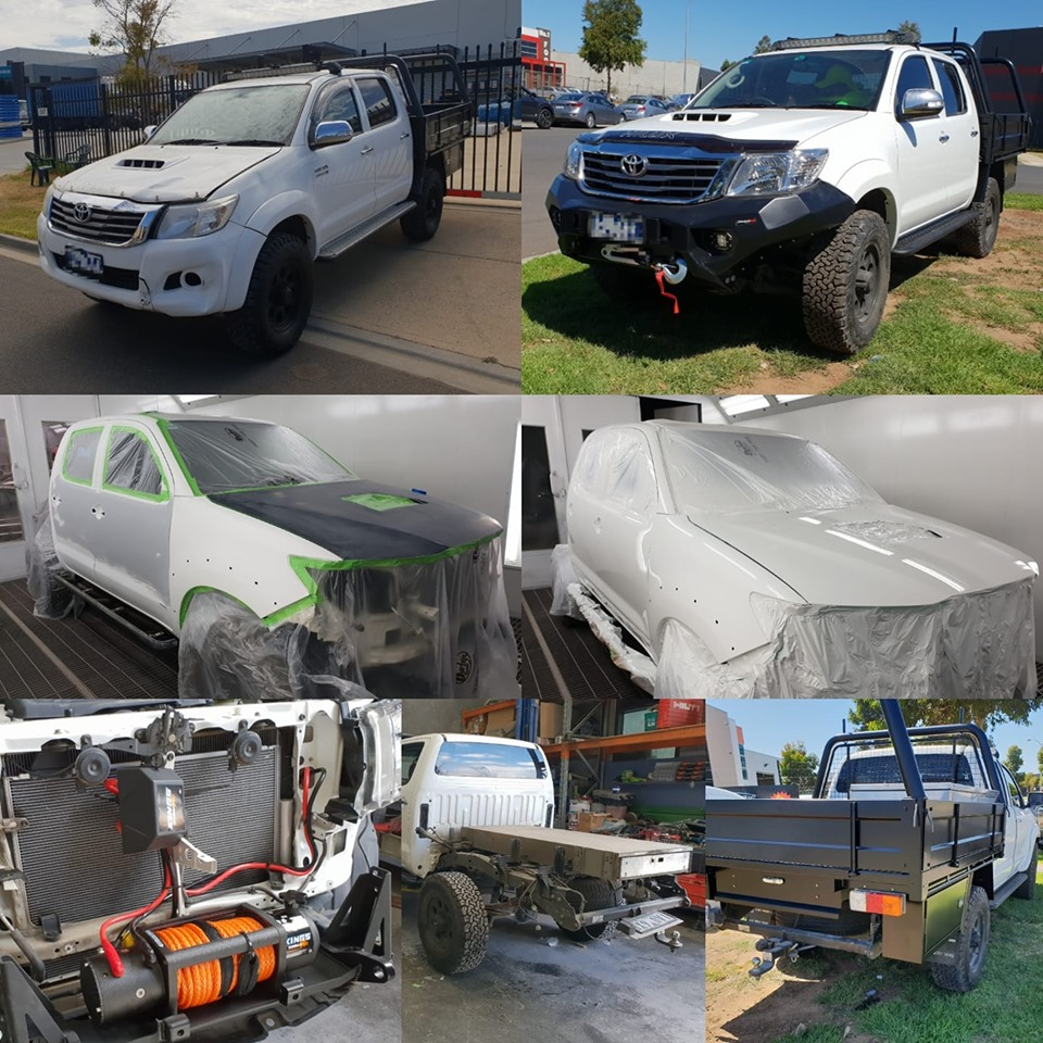Better than New - Toyota Hilux Repair
