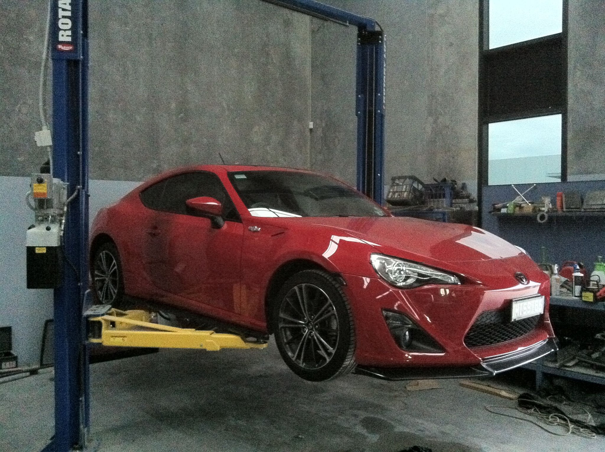 Toyota 86 Panel Repairs Melbourne